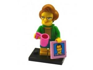 obrázek Lego 71009 Minifigurky The Simpsons Edna Krabappel