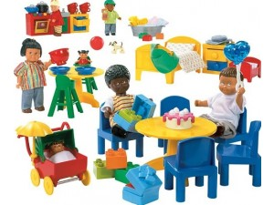 obrázek Lego 9215 Dolls Velká rodina