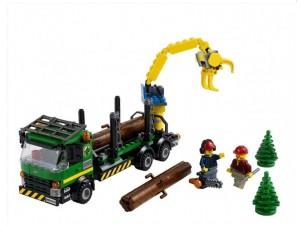 obrázek Lego 60059 City Dřevorubecké auto