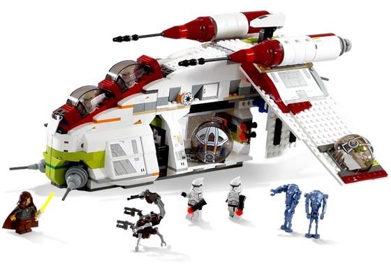 Lego 7163 Star Wars Bitevní loď republiky