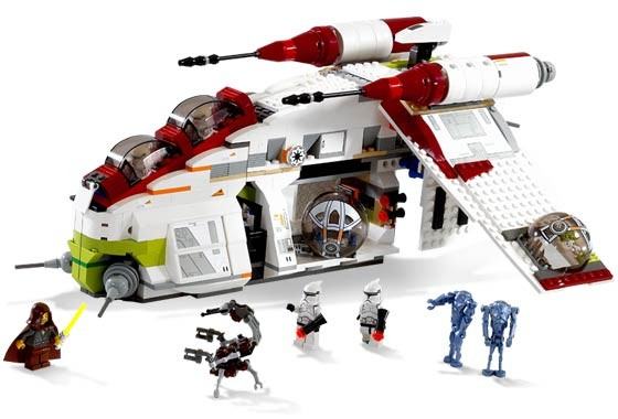 Lego 7163 Star Wars Bitevni Lod Republiky