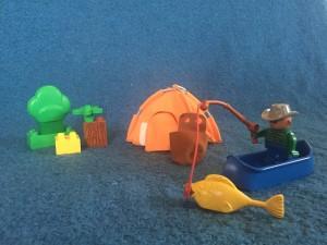 obrázek Lego Duplo 3610 Kempování s rybolovem