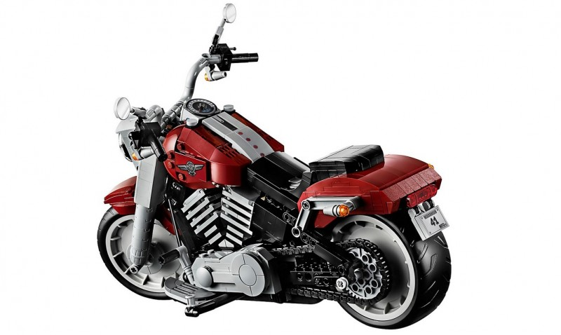 Lego 10269 Creator Harley Davidson Fat Boy Dzunglehracek