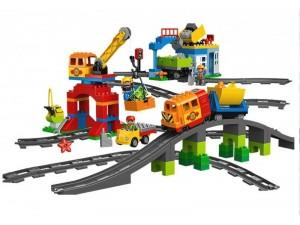 obrázek Lego 10508 Duplo Vláček Deluxe (bazarový set)