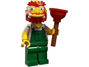 obrázek Lego 71005 Minifigurky The Simpsons Groundskeeper Willie
