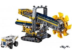 obrázek Lego 42055  Technic Těžební rypadlo