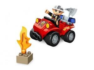 obrázek Lego 5603 Duplo Velitel hasičů