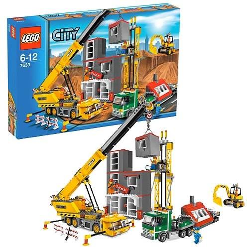 Lego 7633 City Stavba