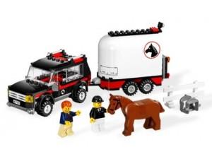 obrázek Lego 7635 City Terénní vůz s přívěsem