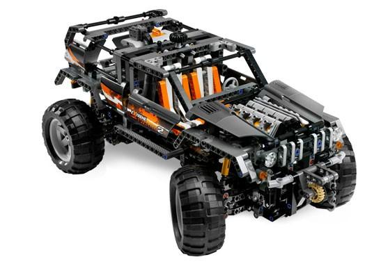 Lego 8297 Technic Terénní vůz V 29