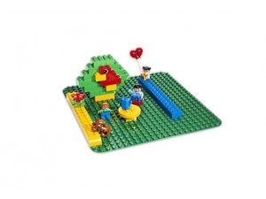 Lego 2304 Duplo zelená podložka