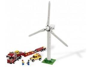 obrázek Lego 7747 City Transport větrné turbíny
