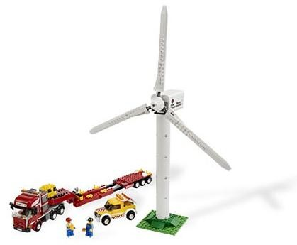 Lego 7747 City Transport větrné turbíny