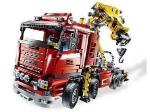 obrázek Lego 8258 Technic Tahač s jeřábem