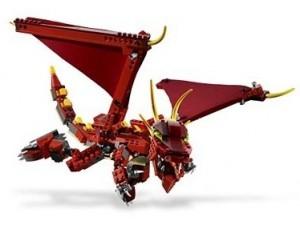 obrázek Lego 6751 Creator Ohnivá legenda