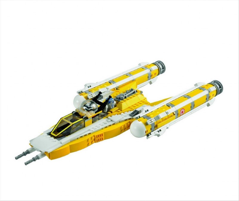 Lego 8037 Star Wars Anakinova hvězdná stíhačka