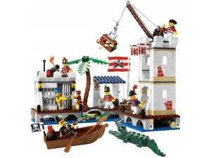 obrázek Lego 6242 Piráti Vojenská pevnost