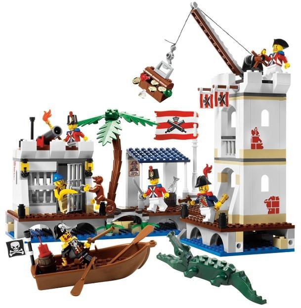 Lego 6242 Piráti Vojenská pevnost