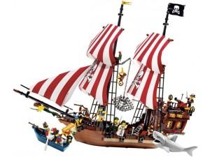 obrázek Lego 6243 Piráti Loď Brickbeard s Bounty