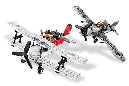 Lego 7198 Indiana Jones Letecká bitva