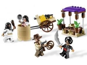 obrázek Lego 7195 Indiana Jones Přepadení v Káhiře