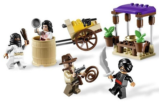 Lego 7195 Indiana Jones Přepadení v Káhiře
