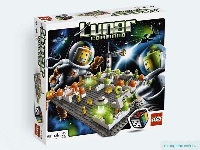 Lego 3842 Měsíční základna
