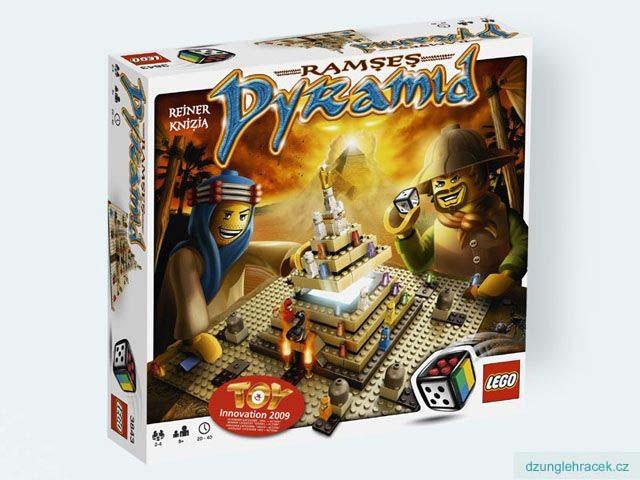 Lego 3843 Ramsesova pyramida