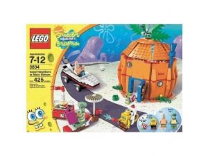 obrázek Lego 3834 SpongeBob Dobří sousedé z Bikini Bottom