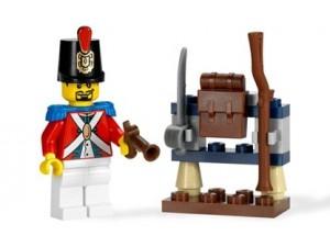 obrázek Lego 8396 Piráti Voják a muniční sklad