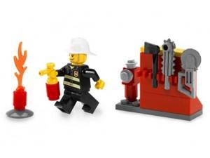 obrázek Lego 5613 Hasič
