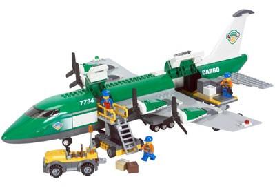 Lego 7734 City Nákladní letadlo