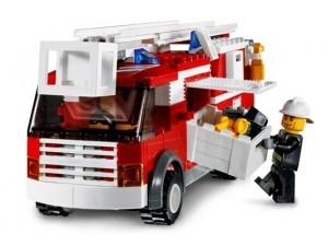 obrázek Lego 7239 City Hasičské nákladní auto