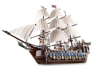 obrázek Lego 10210 Piráti Pirátská Imperiální vlajková loď