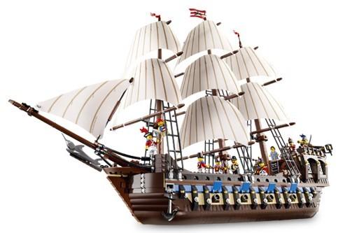 Lego 10210 Piráti Pirátská Imperiální vlajková loď