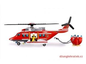obrázek Lego 7206 City Hasičský vrtulník