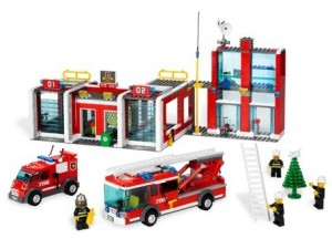 obrázek Lego 7208 City Hasičská stanice