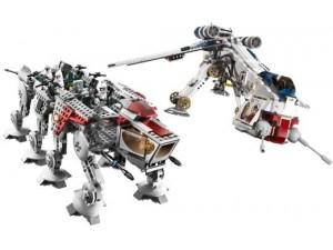 obrázek Lego 10195 SW Republic Dropship + AT-OT Walker